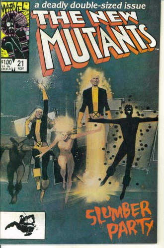 The New Mutants #21 : Slumber Party (Marvel Comics)