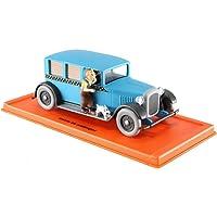 Voiture miniature Checker 1949 1/43 le taxi de TINTIN en amerique