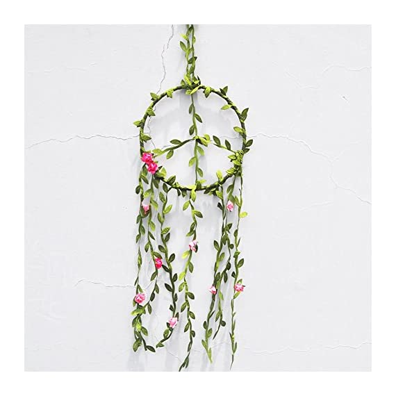 Onnekas Peace Vines Floral Dreamcatcher Wall Hanging, Bedroom Decor, Self Healing, Meditation, Reiki, Hippie - Native Americans believe that the night air is filled with dreams both good and bad. The dream catcher when hung over or near your bed swinging freely in the air, catches the dreams as they flow by. All dreamcatchers look beautiful in any boho bedroom,nursery or home. They make a wonderful unique statement at weddings and are perfect for wedding, babyshower or birthday gifts. Dream catcher will defend you and your family from bad dreams and fight against evil spirits trying to creep into your house at night because they will become confused and tangled in its web. Dreamcatcher brings love, light and positive energy and allows only your good dreams to slip down the feathers to bless you while you're sleeping. The bad dreams will perish with the first light of dawn. - living-room-decor, living-room, home-decor - 51CkoJdUnfL. SS570  -