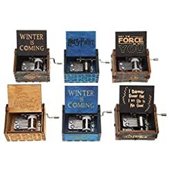 Wood Music Boxes for Daughter, Engraved ...
