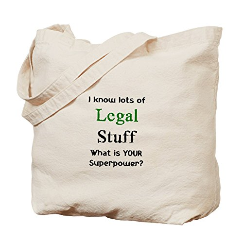 CafePress–Legal Stuff bolsa–gamuza de bolsa de lona bolsa, bolsa de la compra