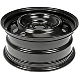 "Dorman Steel Wheel with Black Painted Finish (16x7""/5x4.5"")"