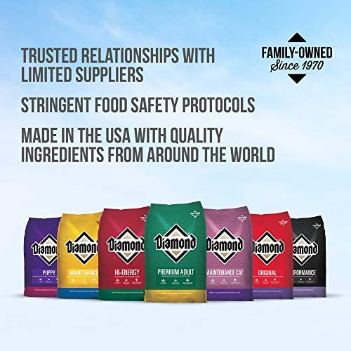 Diamond Premium Recipe Hi-Energy Complete and Balanced Dry Dog Food