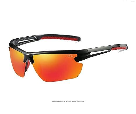 Shangpu123 Occhiali Da Sole Occhiali Polarizzati Da Esterno Occhiali Da Vista Unisex Materiale PC Obiettivo HD 10 10 10Cm,Blue