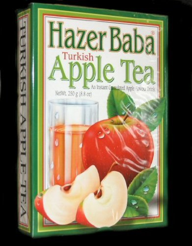 Hazer Baba Turkish Apple Tea Granules (Carton) 6 x 250g Multi Pack by Hazer Baba
