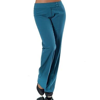 461bc30ff5 Diva-Jeans H326 Damen Business Stoffhose Elegante Bootcut Hose Classic  Schlaghose Schlag: Amazon.de: Bekleidung