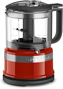 KitchenAid KFC3516HT 3.5 Cup Food Chopper, Hot Sauce (Renewed)