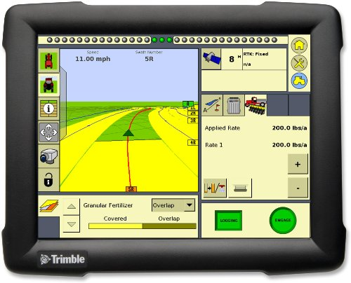 Gps Anti Glare (POSRUS Antiglare Touch screen protector for Trimble Ag GPS FmX Integrated Display **ONLY SOLD BY POSRUS**)