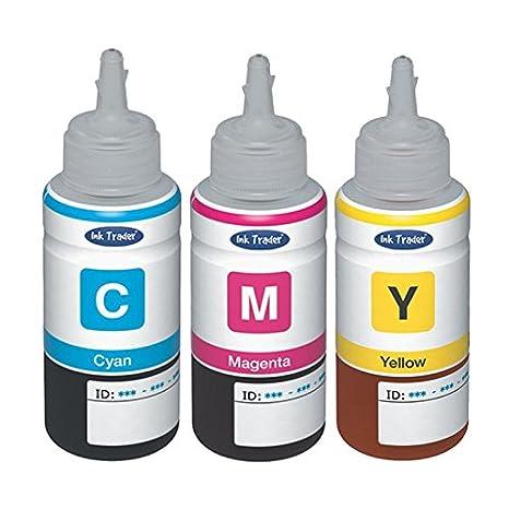Compatibles con Epson T664 cian Magenta y amarillo botes de tinta ...
