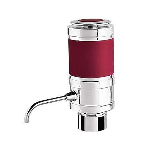 Gosear Dispensador Eléctric del Vino - Portable Electrico Inalámbrico Oxigenador Decantador para Vino Tinto y Blanco