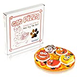 Easyology Cat Toys Interactive Pizza: The ONLY Cat Toy Served in a Pizza Box – Best Cat Toys and Fun Cat Teaser - Best Kitten Toys for Gifts - Catnip Toys Cat Charmer Cat Toys for Cats