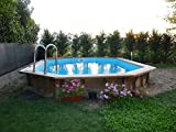 Wooden pool JARDIN 727