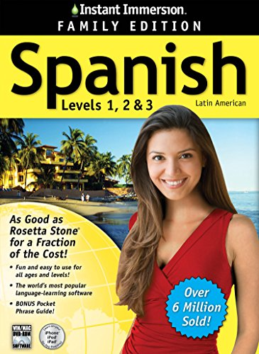 2014 Edition   Instant Immersion Spanish Levels 1 2 3