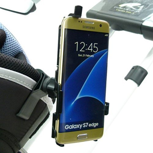 BuyBits Dedicated TC Golf Bag Clip Mount Phone Holder for Samsung Galaxy S7...