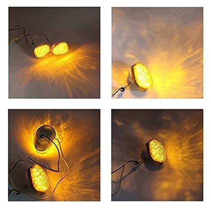 Rzmmotor Motorcycle Custom Smoke LED Turn Signal Blinker Marker Indicator Light For YAMAHA FZ09 FZ1 FZ6 FZ6R FZ8 TMAX YZF R1 YZF R6 YZF R6S