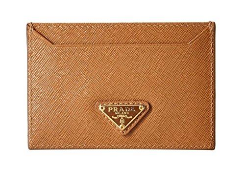 Prada Women's Leather Card Case 1mc208qhhf098l