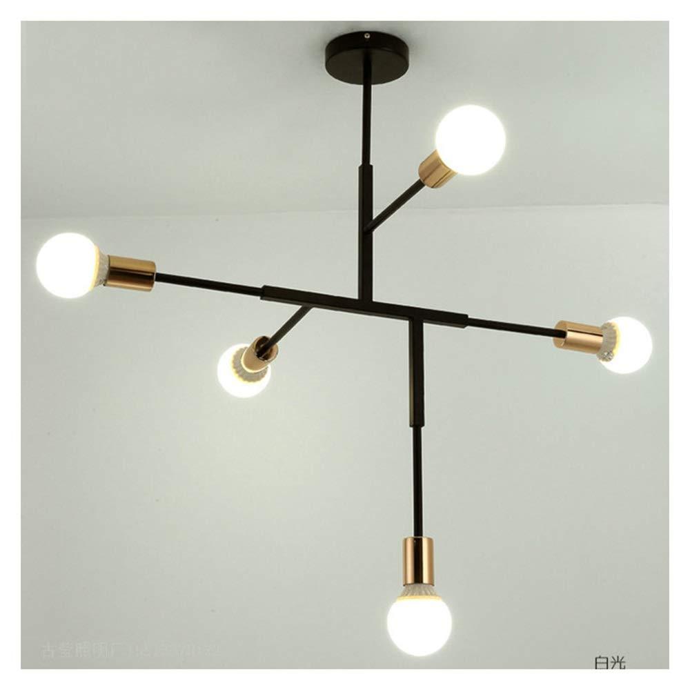 THOR-YAN 天井ランプモダンなクリエイティブ雰囲気幾何学的ガラスボールリビングルームシャンデリアリビングルームの寝室のペンダントライト -4682 シャンデリア B07SC3MXGG