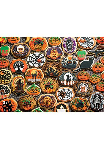 Cobblehill 54612 Multi 350 Halloween Cookies Puzzle, Various -