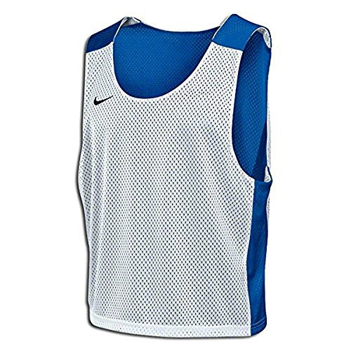 Nike Lax Mesh Reversible Tank (S/M, Light Blue/White)