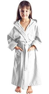 350056d25e Bathrobe XL Short Women Men Unisex Hooded Dressing Gown Microfibre ...