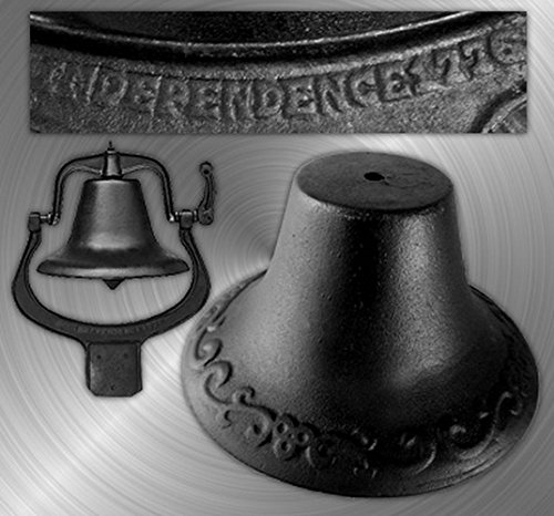 DealsJungle Big Farmer Bell - Antique Women Congratulation Garden Genuine Sister Valentine by IWGAC