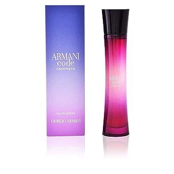 Code De Armani Femme Eau Parfum Cashmere Vaporisateur 8Nnvm0wO