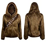 Star Wars I Am Chewbacca Furry Juniors Hoodie (Large)