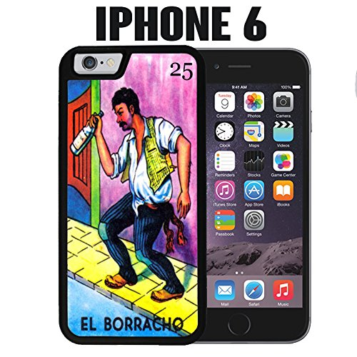 amazon com iphone case el borracho loteria for iphone 6 plastic