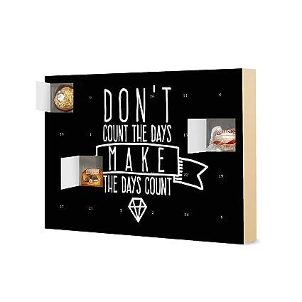 Calendario Adviento 2020.Calendario De Adviento Con Bombones De Ferrero Don T Count The