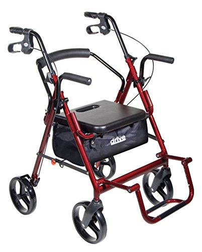 Transport Chair and Rollator in 1 XL -