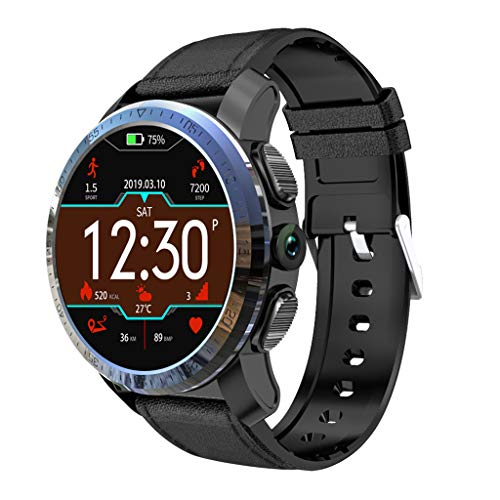 Fine Kospet Optimus Pro Smart Watch, 3GB RAM 32GB ROM WiFi GPS Android 7.1.1 System 8.0MP Camera for Android and iPhone Compatible Sport Management Water Proof Heart Rate Monitor (Black) (Best Sports Management Games Ios)