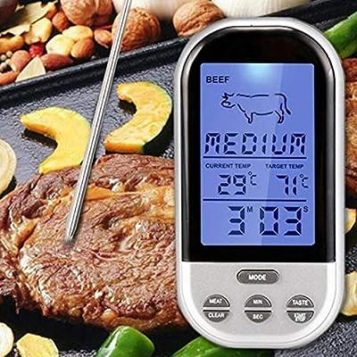 Cocinar termómetro, Buena Sonda Digital Tipo de cocinar en el ...