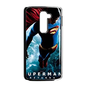 Superman LG G2 Cell Phone Case Black as a gift O6733155
