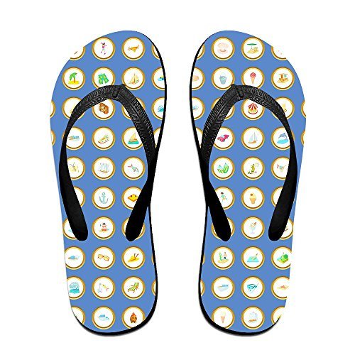 Set Kids Men Cartoon Slipper Thong Women For Black Beach 100 Summer Flop Sandal Outdoor Icons Slim Flip Footwear Summer Casual CTXqXw