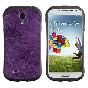 Paccase / Suave TPU GEL Caso Carcasa de Protección Funda para - Pattern Texture Pastel Beautiful - Samsung Galaxy S4 I9500