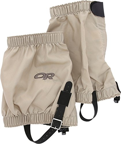 (Outdoor Research Bugout Gaiters, Tan, Large)