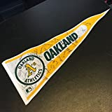 1989 Oakland A's Athletics World Series Champs Team Signed Pennant Mark McGwire