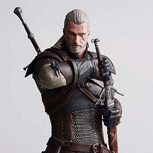 SHWSM Toy Statue Sorcerer Toy Model Cartoon Character Regalo//Colecci/ón//Witcher 19cm