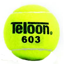 Set of 3 Teloon 603 Junior Special Training Tennis Balls- 2.5 inches