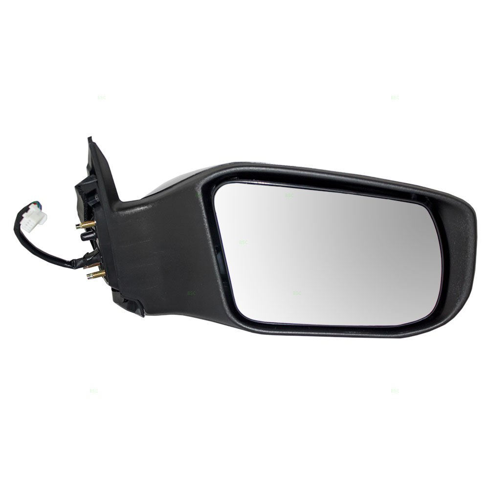Passengers Power Side View Mirror Ready-to-Paint Replacement for Nissan Altima Sedan 96301-3TH0A