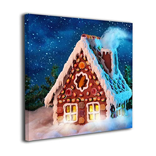 OYE Gingerbread House Wall Art Pictures Without Frame Canvas Paintings for Living Room Bedroom Home Interior Decorations 12