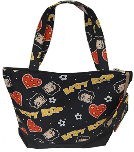 Betty Boop Tote Bag Fashion Shoulder Bag (Betty Boop Top Zip)