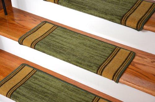 Dean Modern DIY Bullnose Wraparound Non-Skid Carpet Stair...