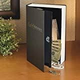 Bits and Pieces - Dictionary Safe With Key Lock and Metal Compartment - Diversion Book Bank for Hiding Valuables