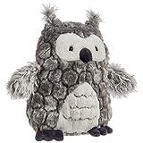 Mary Meyer FabFuzz Stuffed Animal Soft Toy, Smokey Owl, 12-Inches