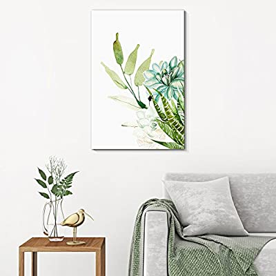 Amazing Style, Made With Love, Succulent Plants Series Watercolor Style Plants on White Background