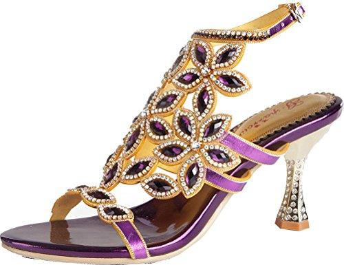 cone Purple Salabobo Arriere Femme Bride Zqa4wa