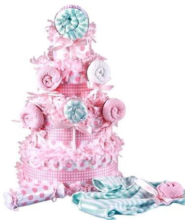 Amazon Lollipop Baby Shower Diaper Cake For Girls Baby