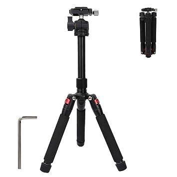 Mini trípode portátil de Escritorio Extensible para cámara réflex ...