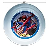 Zak Designs Marvel Comics Kids Dinnerware Set